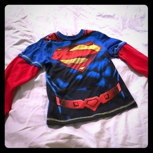 Other - ✈️ 3/$10 Superman pj top